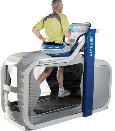 "Introducing you to the Alter-G ""Anti-Gravity"" Treadmill"